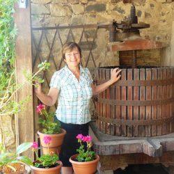 Viviane LOUP FOREST vigneron coopérateur  à Jullié