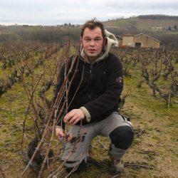 Jean-Pierre CLAITTE vigneron coopérateur à Juliénas