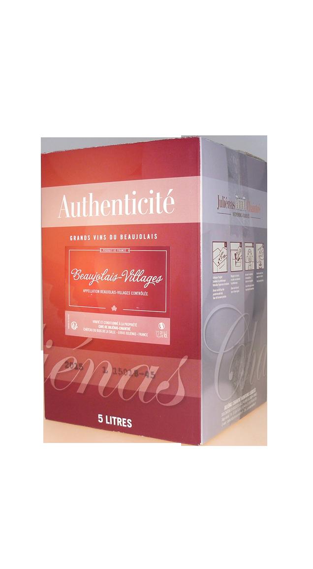 Beaujolais Villages Bag in Box - Juliénas Chaintré Vignerons Associés