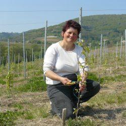 Chantal GUIGNIER vigneron coopérateur  à Vauxrenard