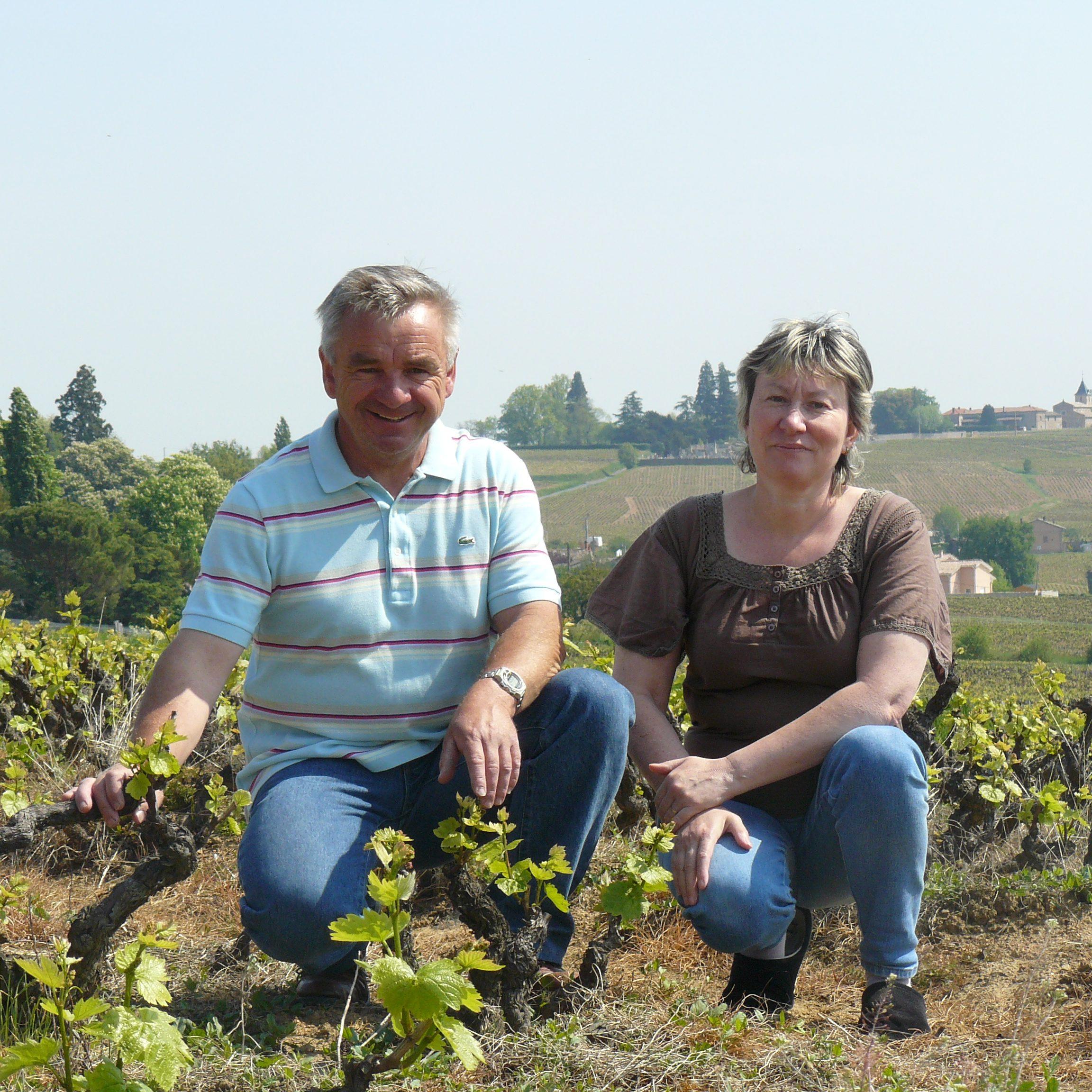 Nathalie et Gérard MARGERAND vignerons à Juliénas