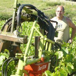 Pascal GALLAND vigneron coopérateur à Juliénas