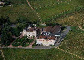 Le Château et son chai de vinification actuel