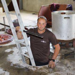 Julien AUCAGNE vigneron-coopérateur à Juliénas