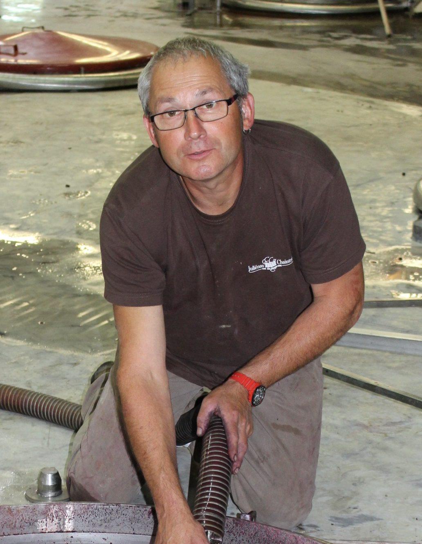 Michel CROZET vigneron-coopérateur à Juliénas