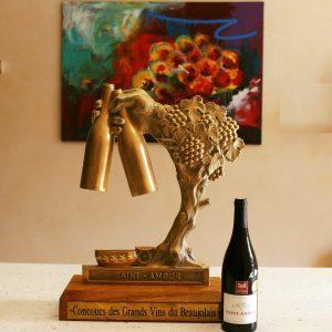 Premier prix concours des Grands Vins du Beaujolais 2021 - Saint Amour